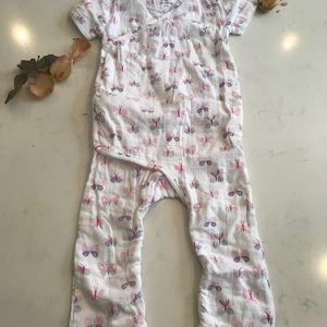 Aden & anais Baby Girl full bodysuit